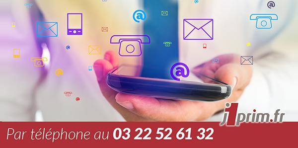 Contact téléphonique - Hotline J1PRIM.FR